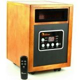 Dr Infrared Heater Quartz + PTC Infrared Portable Space Heater – 1500 Watt, UL Listed , Produces 60% More Heat with Advanced Dual Heating System.