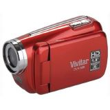 Vivitar DVR508 High Definition Digital Video Camcorder with 1.8″ LCD Screen with 4x Digital Zoom (Red)