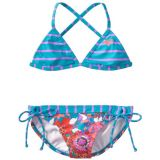 Roxy Girls 7-16 Running Fixed Criss Cross Set, Wild Orchid, 16