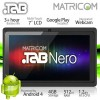 7″ Matricom .TAB Nero Tablet PC – Android 4 Capacitive Multi-Touch 4GB (Black)