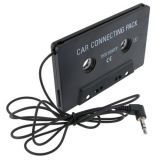 Universal Car Audio Cassette Adapter, Black
