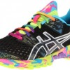 ASICS Women's GEL-Noosa Tri 8 Running Shoe,Black/Onyx/Confetti,8 M US