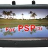 BLACK Soft Rubber Jelly Silicone Skin Cover Case for Sony Play Station Portable PSP 3000. CrazyOnDigital Retail Package
