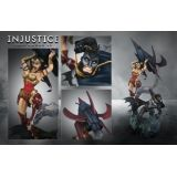 Injustice Gods Among Us Collector's Edition Statue Figurine Batman Vs Wonder Woman Figure
