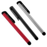 3 Pack of Universal Touch Screen Stylus Pen (Red + Black + Silver)