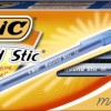 BIC Round Stic Ball Pen, Medium Point , 1.0 mm, Blue, 12 Pens (GSM11-Blu)